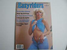 EasyRiders Magazine #137 November 1984 David Mann Centerfold awesome Condition