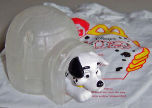 2000 McDonalds/Disney 102 Dalmatians #41 IGLOO DOGHOUSE ON ICE - Brand New!