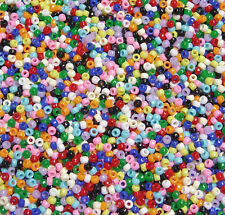 Multi Opaque Colors Mini Pony Beads 500pc for kids church school VBS crafts