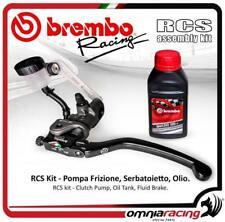 Brembo Kit Pompa Frizione Radiale RCS 19 Serbatoietto+staffa olio freni Dot4
