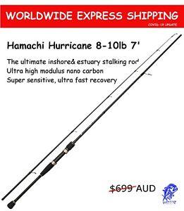 2017 Hamachi Hurricane JDM 8-10 lb 7'0 Japanese nano spin fishing rod pole cane