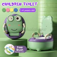 Safety Kids Baby Toilet Training Children Toddler Potty Trainer Seat Chair