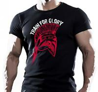 GLORY MMA TRAINING MENS BEAST BODYBUILDING GYM T SHIRT WORKOUT CLOTHING TOP UFC