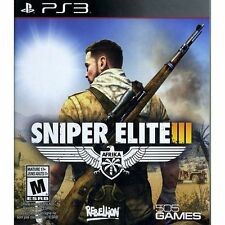 Sniper Elite III (Sony PlayStation 3, 2014) PS3 NEW