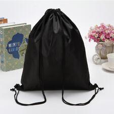 String Drawstring School Backpack Bag Cinch Sack School Tote Gym Bag Sport Pack