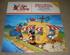 MICKEY MOUSE & DONALD DUCK Cartoons Collection Two DISNEY Laserdisc