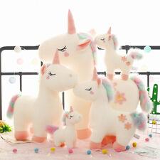 Cute Unicorn Soft Toys Cuddly Stuffed Animals Cute Unicorn Friends Pink White