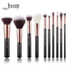 Jessup 15pcs Professional Cosmetic Brushes Set Eyeshadow Eyeliner Brow Lip AU