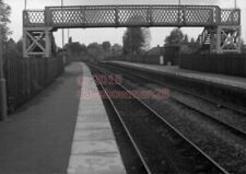 PHOTO  BEN RHYDDING RAILWAY STATION LMS  14/6/77 VIEW BETWEEN OTLEY AND ILKLEY O