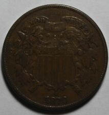 1870 Two Cent Piece MP69