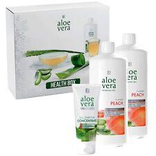 2x LR Aloe Vera Drinking Gel Peach 1L + Konzentrat 100ml Geschenkbox Set NEU+OVP
