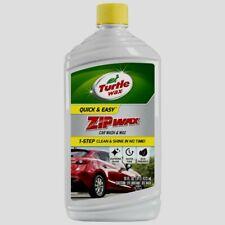Turtle Wax ZIP WAX Car Wash and Wax 1 Step Clean & Shine Vehicle 16 oz T-75A