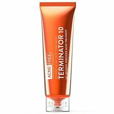Acne Free Terminator 10 Acne Spot Treatment with Benzoyl Peroxide 10% Maximum St