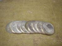 Anlegerposten , 10 x 10 DM Gedenkmünze , 155g Silber , Investorenpaket