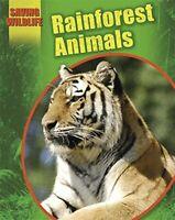 Rainforest Animals (Saving Wildlife) by Newland, Sonya Hardback Book The Fast