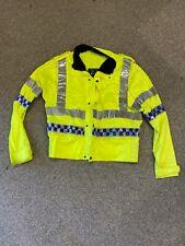 British police  surplus Hi viz visibility jacket large /regular
