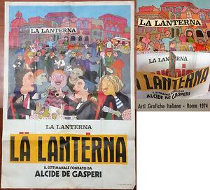 La Lanterna-Pinerolo-Bozza manifesto-1974-Riprende Dopo 50 anni di inattività
