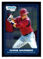 CHRIS MARRERO  NATIONALS RC 1st card 2006 BOWMAN CHROME DRAFT #DP2