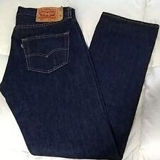 Levi's Men's 501 Button Fly Original Fit Straight Leg Denim Blue Jeans New 31x32