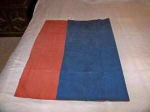 RED / BLUE  HEAVY DUTY RUBBER MACKINTOSH RUBBER BED SHEET  35IN X 42IN
