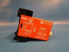 Crouzet Diart T 0611, 24VDC Current Control, Trip Current Relay, 5-100 Threshold