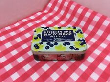 Vintage Glycerin And Blackcurrant Pastilles Tin By Boots