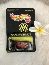 Hot Wheels Limited Edition Volkswagon Bus VW  18665 On Card