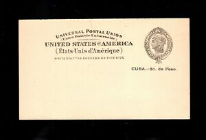 EDSROOM- 5355 UNITED STATES Cuba UX2 Mint Postcard Unused CV $15