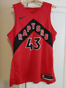 Toronto Raptors Nike Red 2020/21 Swingman Siakam Jersey – Icon Edition, New