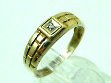 Kinderring/Damen-Ring-mit Diamant Besatz-333/Gold-mit Punze.Ringgr. 52/16,5mm