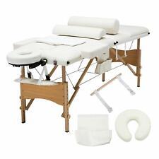 Uenjoy Folding Massage Table 84'' Professional Massage Bed 3 Fold