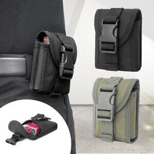 Tactical Molle Cigarettes Lighter Pouch EDC Utility Cigar Waist Pack Key Case #