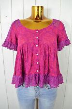 ODD MOLLY Damen T-Shirt Oberteil M312-107 SILKY PURPLE Pink Lila Violett Gr.1/36