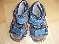 Sandalen blau braun orange Gr. 24