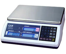 CAS EC Series Portable Bench Counting Scale 30 LBX0.001 LB,RS232,Brand New