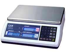 CAS EC Series Portable Bench Counting Scale 60 LBX0.002 LB,RS232,Brand New