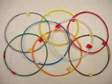 32 feet stranded 32 AWG Silver Plated PTFE Tonearm Wire 8 color assortment