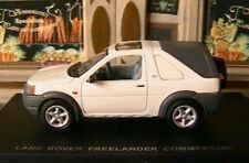 LAND ROVER FREELANDER COMMERCIAL CHAWTON WHITE 1/43 UNIVERSAL HOBBIES BLANC