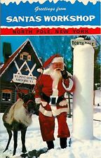Santa & Donder Reindeer Workshop Post Office North Pole Ny
