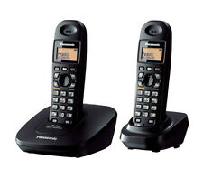 PANASONIC KX-TG3612 DUAL CORDLESS PHONE+3 WAY CONF+INTERCOM+SPEAKER PHONE####