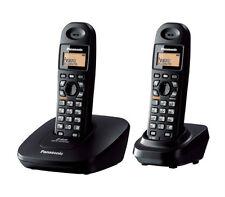 PANASONIC KX-TG3612 DUAL CORDLESS PHONE+3 WAY CONFERENCE+INTERCOM+SPEAKER PHONE