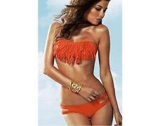 Top Melon Swimwear Two-Piece, Orange, Size- Large