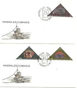 PHYSICS- CHEMISTRY: Havana (CUB*) 2 FDC minerals 1975