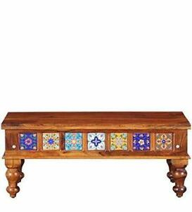 Handicraft Wooden Coffee Table for Home / Office Furniture, Multipurpose Use