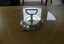 """Christofle Plateado Estilo Art Deco quesos placa - < 12 1/4"""" (31cms)"""