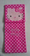 HELLO KITTY Sanrio Smiles 1976, 2009 Pink Polka Dot Terry Cloth Fabric