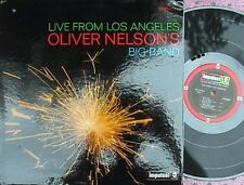 Oliver Nelson ORIG 2ND Press US LP Live from LA Impulse AS9153 '72 Jazz Hard Bop