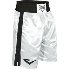 Everlast Standard Top of Knee Boxing Trunks - 2Xl - White/Black