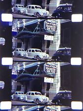 """16mm Silent Kodachrome New Orleans, billboards,city,wow! Home Movie1940  400"""""""