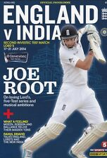 * 2014 - ENGLAND v INDIA 2nd TEST (LORDS 17TH-21st July) CRICKET PROGRAMME *